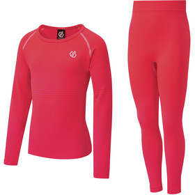 Dare 2b In The Zone Baselayer Set Kinderen, neon pink gradient